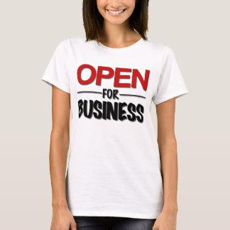 Camiseta OpenForBusiness