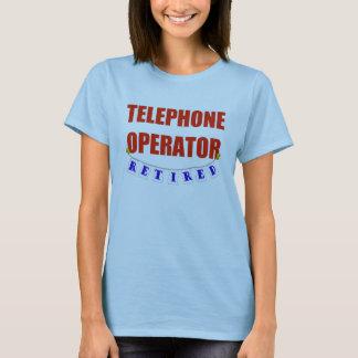 Camiseta Operador de telefone aposentado