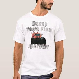 Camiseta Operador do arado de neve