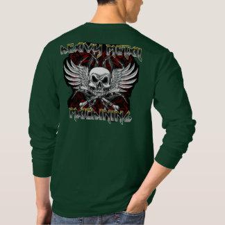 """Camiseta Operador do """"camiseta fazendo à máquina metal"""
