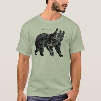 """Camiseta Opinião agradável do urso de Saracastic """"."""