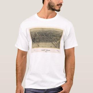Camiseta Opinião de Coney Island, New York de olho de