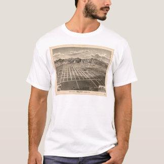 Camiseta Opinião de olho de pássaro de Azusa, Califórnia