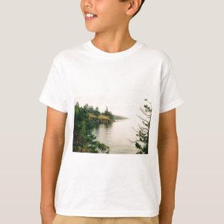 Camiseta Opinião do Oceanfront da ilha do primavera de sal