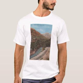 Camiseta Opinião & rio da garganta de Ogden, de Utá - de