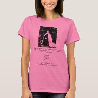 "Camiseta ""Oração a St. Therese"" Theresa Hartman"