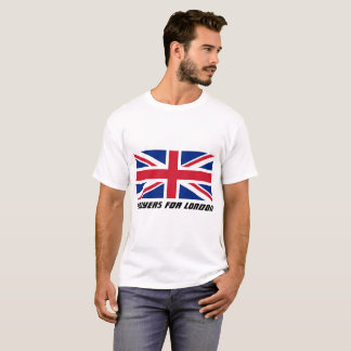 Camiseta Orações para o t-shirt de Londres