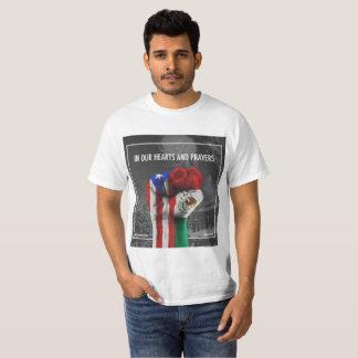 Camiseta Orações para Puerta Rico e México 2017