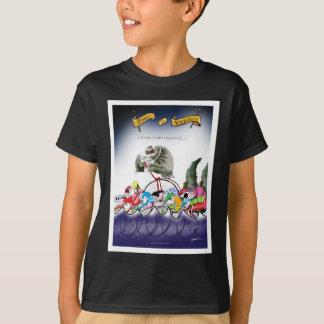 Camiseta o'rain da gota de yorkshire do amor