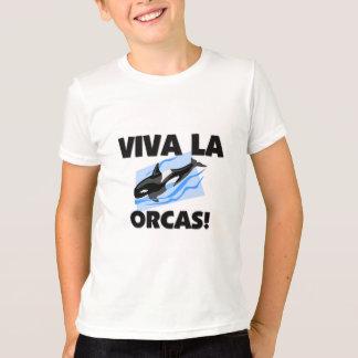 Camiseta Orcas do La de Viva