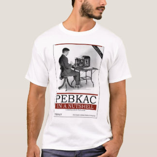 Camiseta O'Really - PEBKAC em resumo