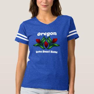 Camiseta Oregon ou sua casa do doce da casa do estado