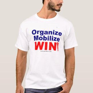 Camiseta Organizar-Mobilizar-VITÓRIA!