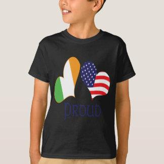 Camiseta Orgulho americano irlandês