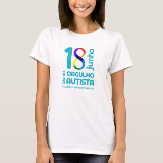 Camiseta Orgulho Autista