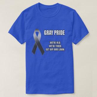 Camiseta Orgulho cinzento