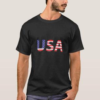 Camiseta Orgulho da bandeira americana dos EUA