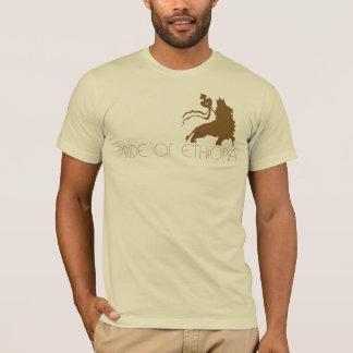 Camiseta Orgulho de Etiópia