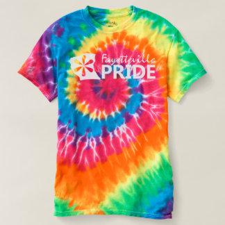 Camiseta Orgulho de Fayetteville na tintura do laço do