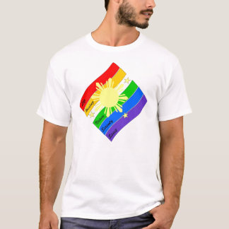 Camiseta Orgulho de LGBT Pinoy/Pinay!