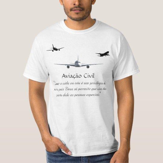 Camiseta Orgulho de Voar