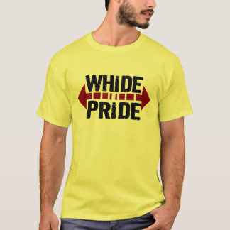Camiseta Orgulho de WhiDe - orgulho largo para Fatties