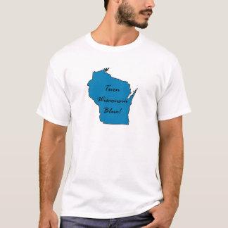 Camiseta Orgulho Democrática de Wisconsin! Gire Wisconsin