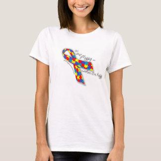 Camiseta Orgulho do autismo - eu obtenho Flappy quando eu