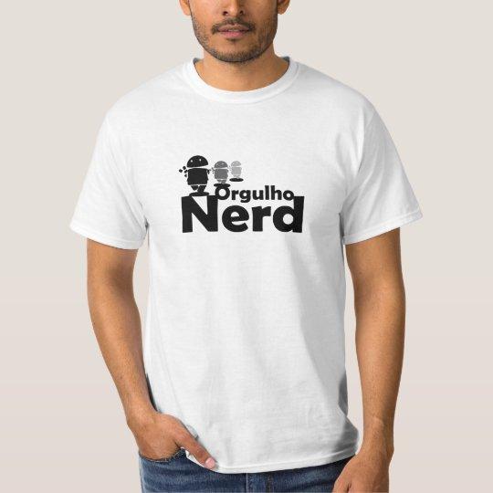 Camiseta Orgulho Nerd