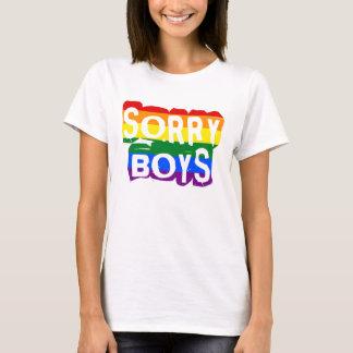 Camiseta Orgulho pesaroso dos meninos LGBTQ