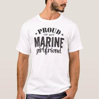 Camiseta Orgulhoso de meu namorada MARINHO