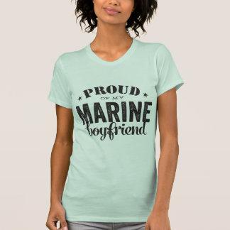 Camiseta Orgulhoso de meu namorado MARINHO