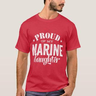 Camiseta Orgulhoso de minha filha MARINHA