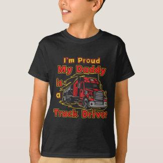 Camiseta Orgulhoso meu pai é um camionista