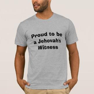 Camiseta Orgulhoso ser a testemunha de um Jehovah