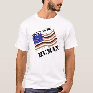 Camiseta Orgulhoso ser humano