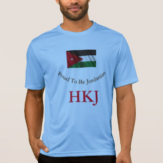 Camiseta Orgulhoso ser jordano