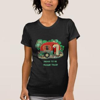 Camiseta Orgulhoso ser lixo do reboque personalize-o TShirt