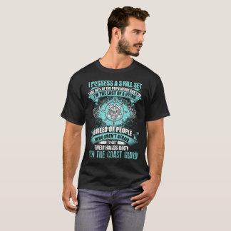 Camiseta Orgulhoso ser um design da guarda costeira