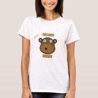 Camiseta Orgulhoso ser um macaco do norte