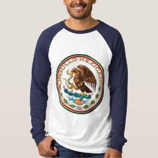 Camiseta Orgullo Mexicano (Eagle da bandeira mexicana)