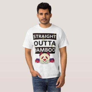 Camiseta Original de bambu reto do t-shirt de Outta