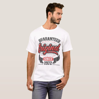 CAMISETA ORIGINAL DE QUARANTEED DESDE 1972