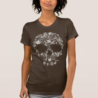 Camiseta Ornament Flower Skull