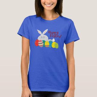Camiseta Ornamentado colorido dos ovos bonitos dos desenhos
