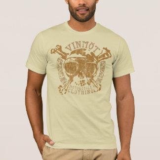 Camiseta Ornamentado de Vinmot (metal do vintage)