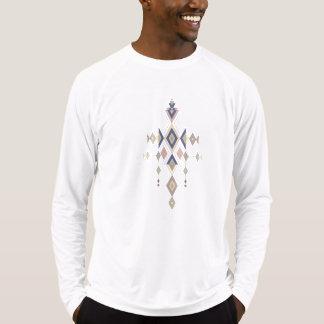 Camiseta Ornamento asteca tribal étnico do vintage