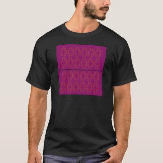 Camiseta Ornamento do roxo da GOMA-ARÁBICA. Produtos