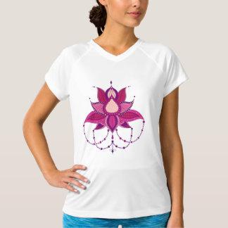 Camiseta Ornamento étnico da mandala dos lótus da flor