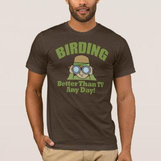 Camiseta Ornitologia, Birder de Birding